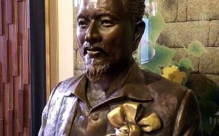 施金輝銅像 / 王昭旺