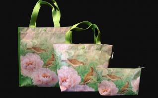 春豐提袋、托特包、化妝包3
