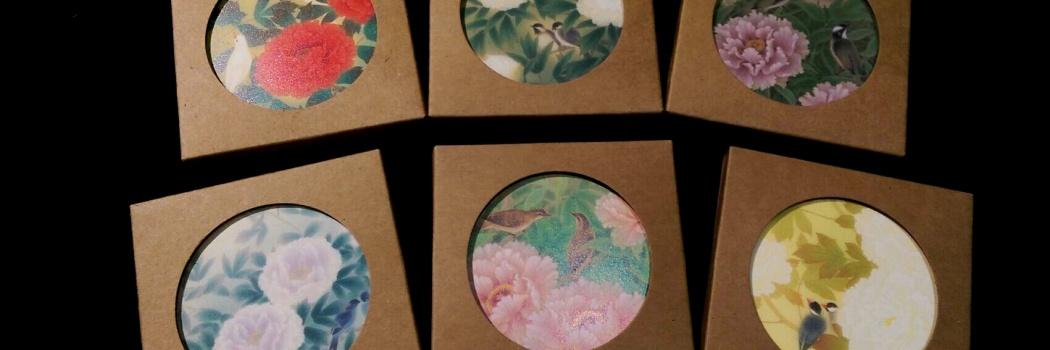 (中文) 環保耐熱陶瓷吸水杯墊
